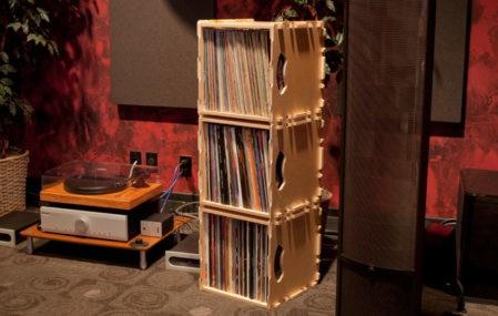 wax stacks record storage