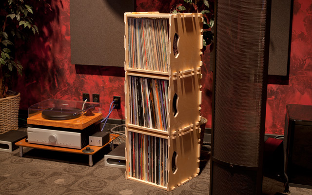 Wax Stacks Make It Easy To Show Off Your Vinyl Collection