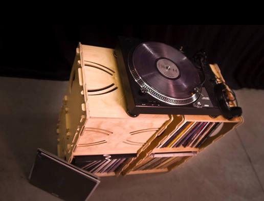 wax stacks vinyl storage