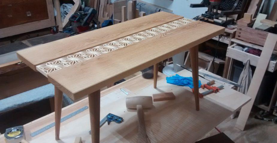 Big Sand Woodworking Kumiko coffee table