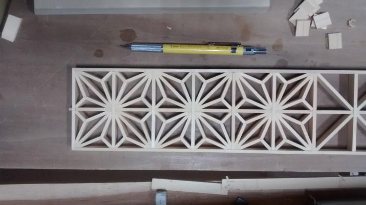 Big Sand Woodworking kumiko table