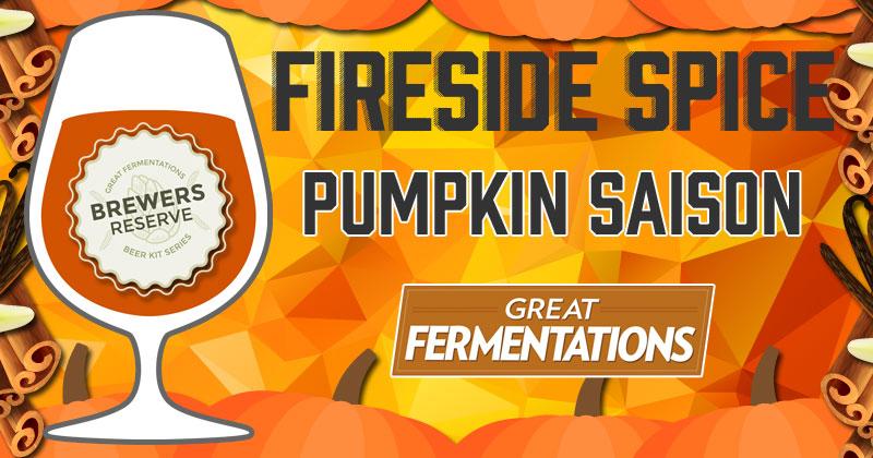 Halloween Fireside Spice Pumpkin Saison Extract Home-Brewing Kit