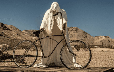 Halloween Ghost Rider at Goldwell Open Air Museum
