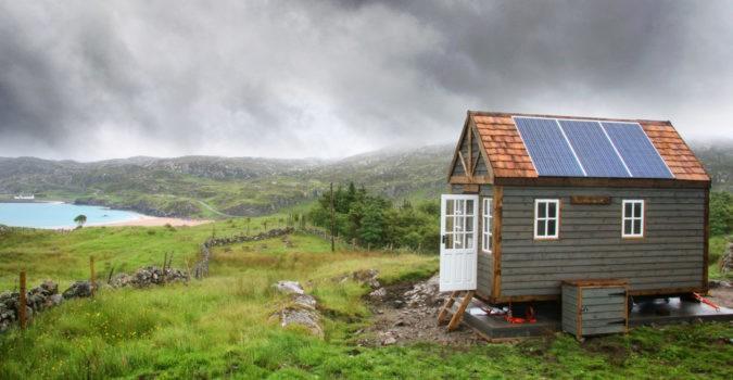 Mark Burton's tiny house