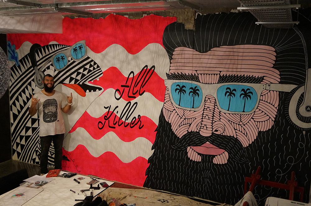 mulga mural