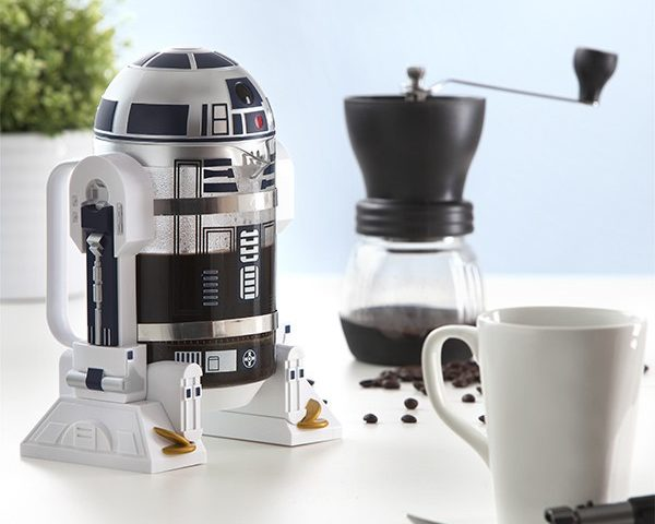 ThinkGeek R2D2 coffee press