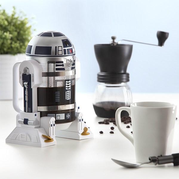 ThinkGeek R2D2 coffee press