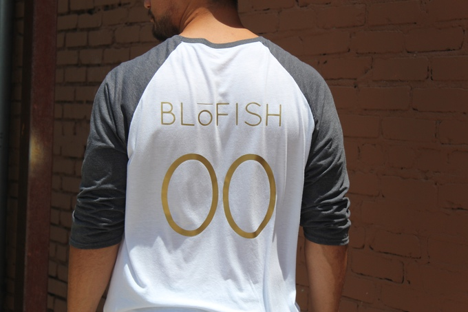 blofish gender neutral clothing baseball shirt