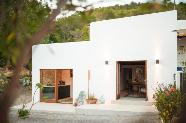 ibiza modern converted stable home