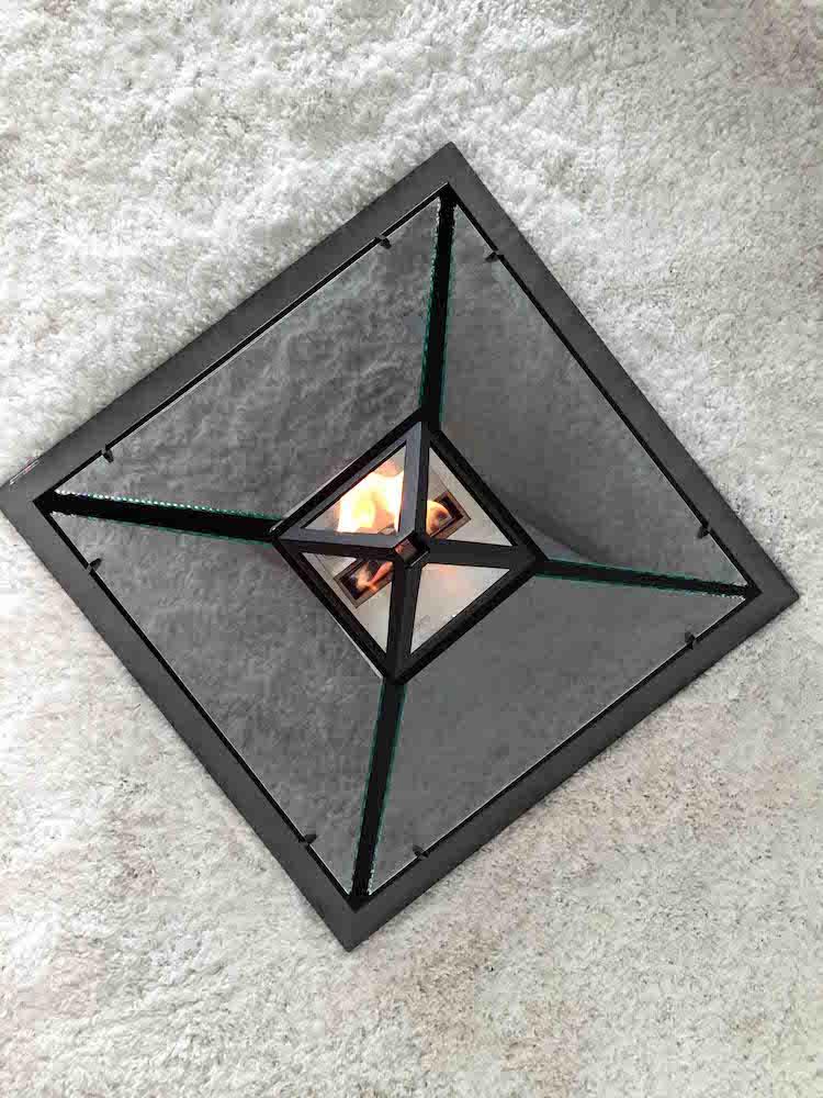 louvre fireplace