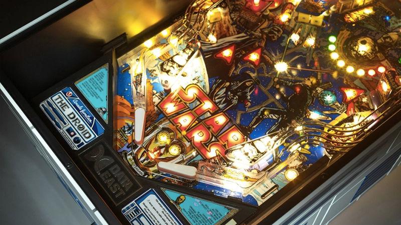 star wars pinball coffee table