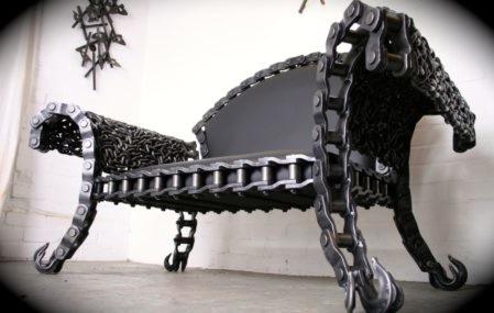 STIG steel bench
