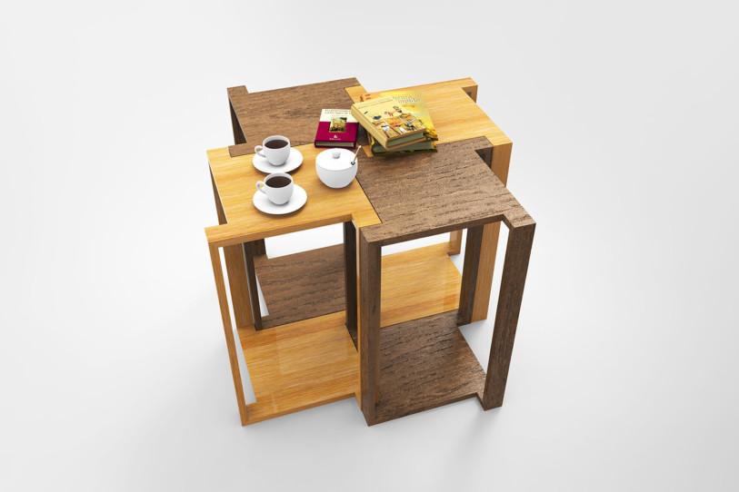Yu Hiraoka side tables