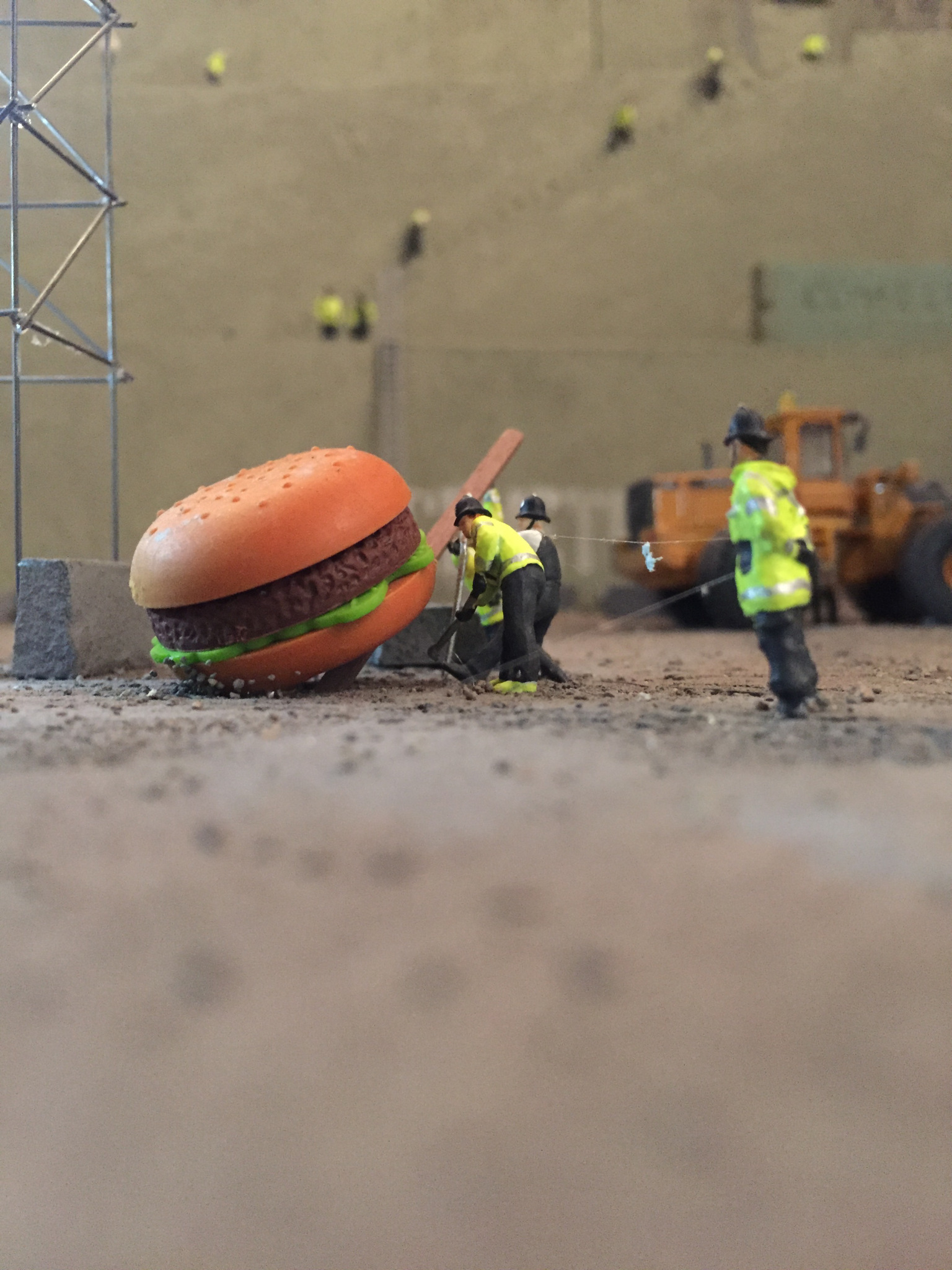 Artist Jimmy Cauty's 'Aftermath Dislocation Principle'