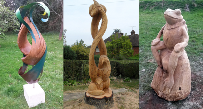 Chainsaw Art Wooden Sculptures and Furniture