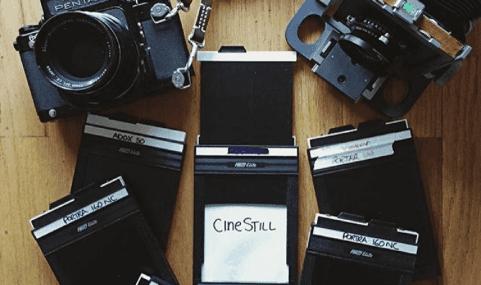 CineStill's motion picture cinema film