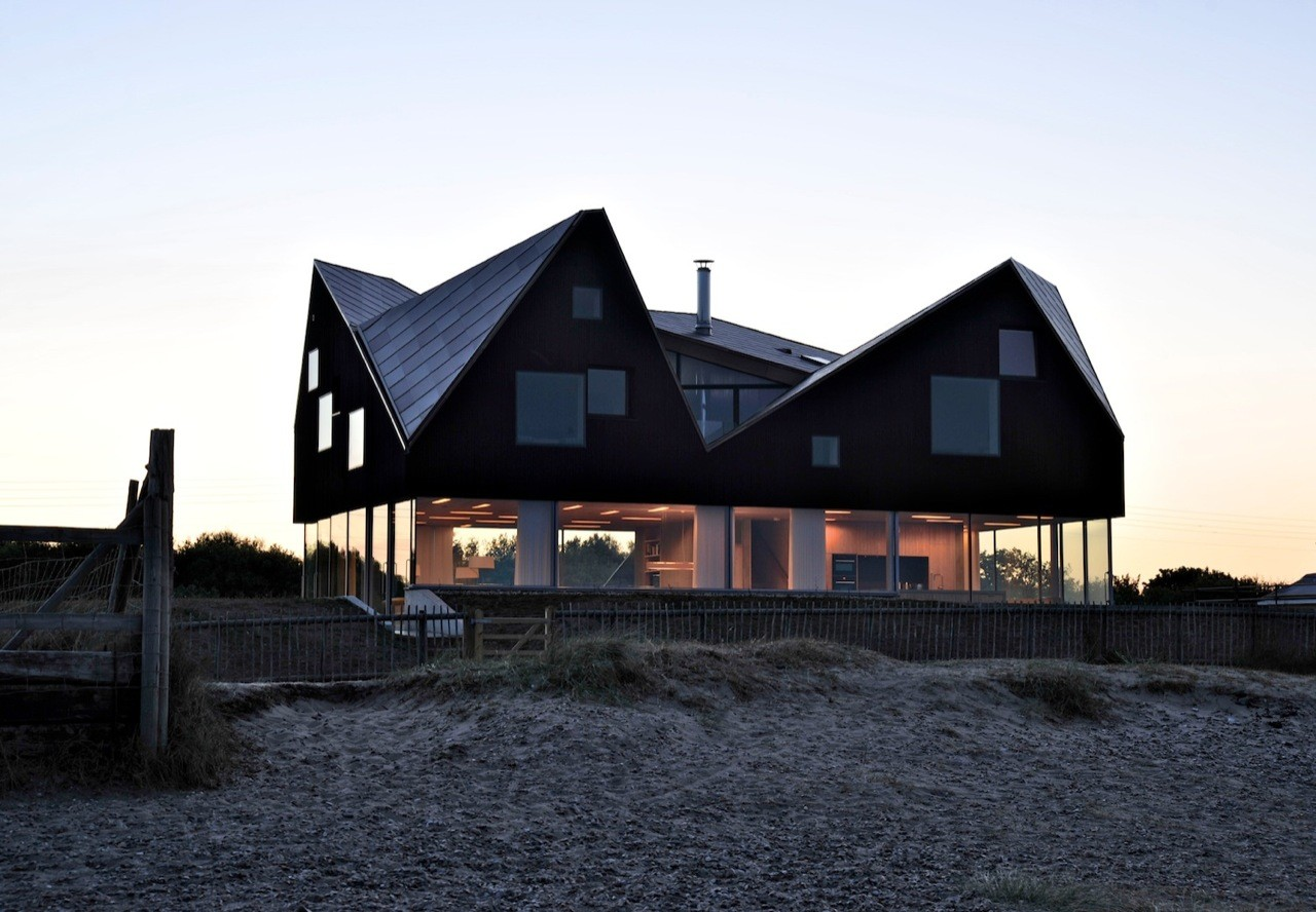 Floating On Air Home S Transparent First Floor Creates A