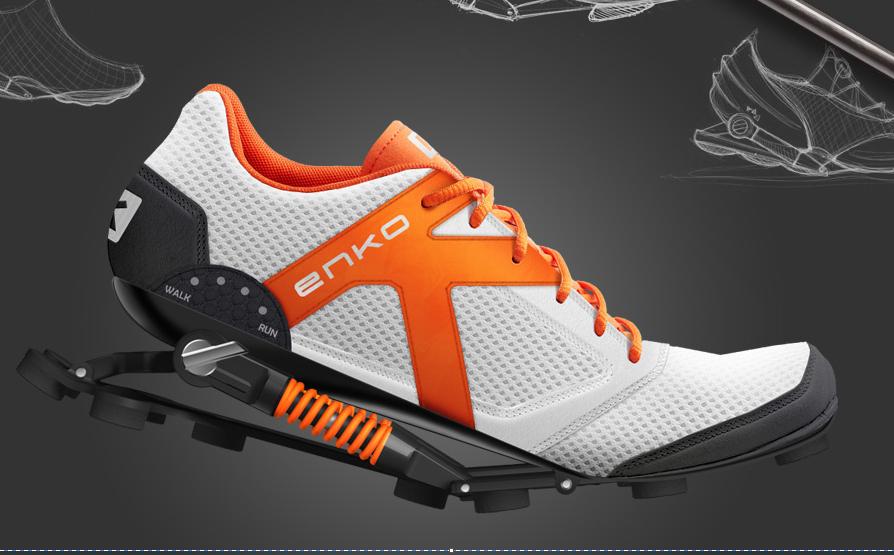 Enko the Energy Saving Running Shoe Designs & Ideas on Dornob  Designs & Ideas on Dornob