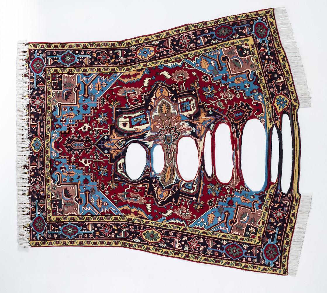 glitch rug