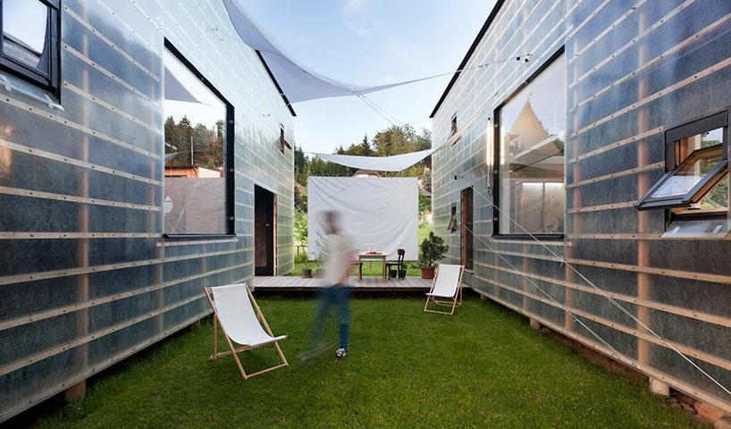 transparent zen houses