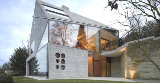 ultramodern green home