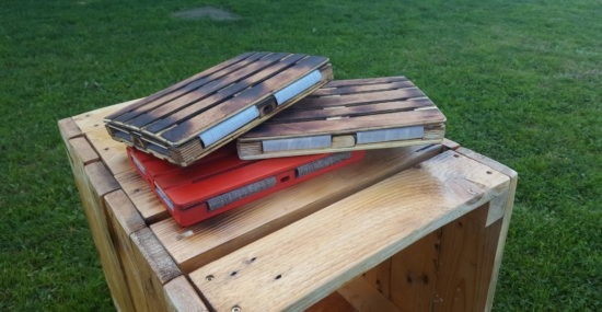 wooden pallet tablet cases