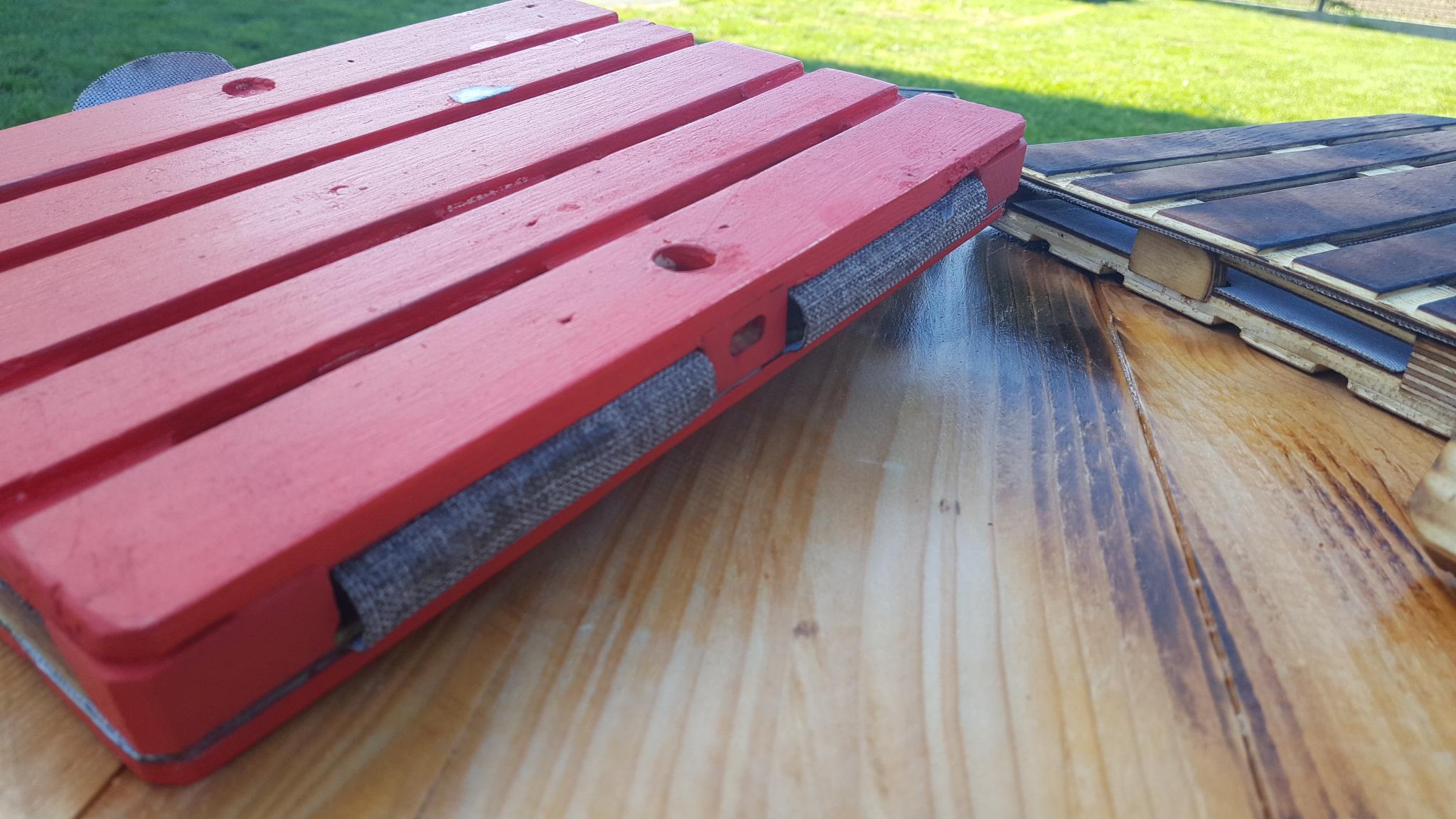 red pallet case