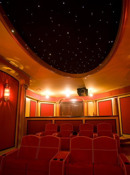 vintage theater seating
