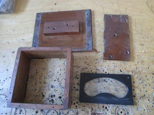 Nixie clock parts