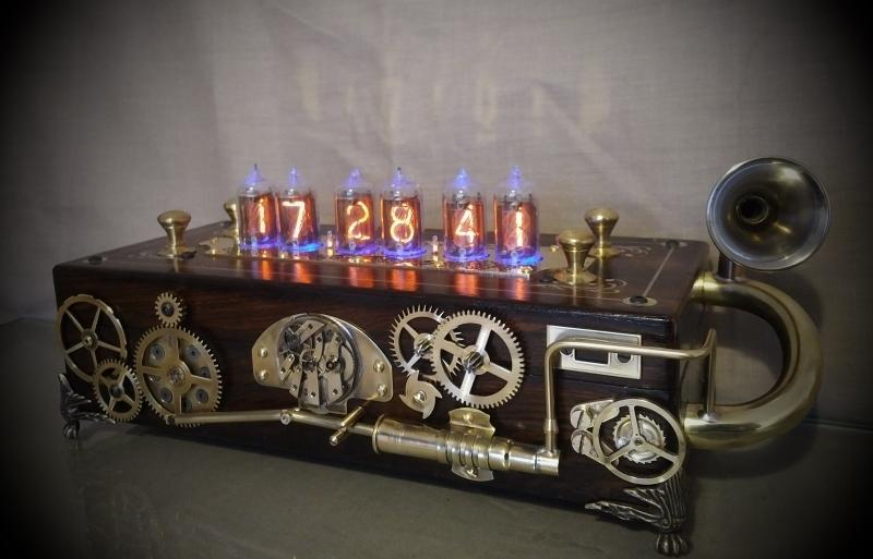 Pandora Nixie Tube Clock