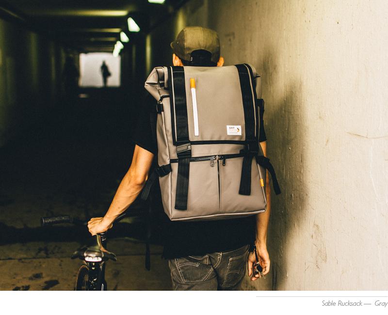 grey sable rucksack