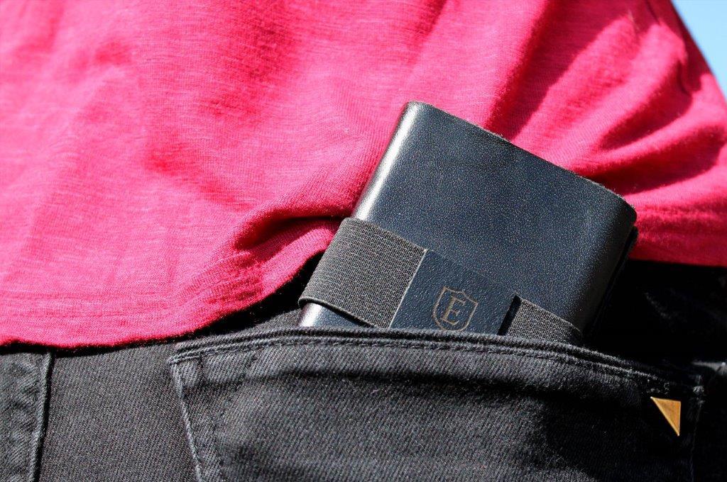 ekster wallet back pocket