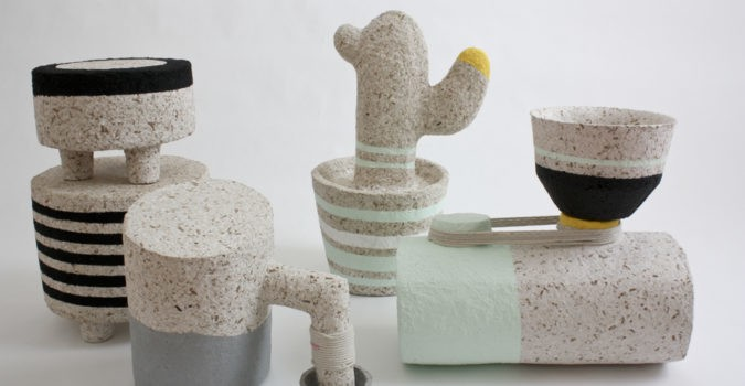 recycled paper art