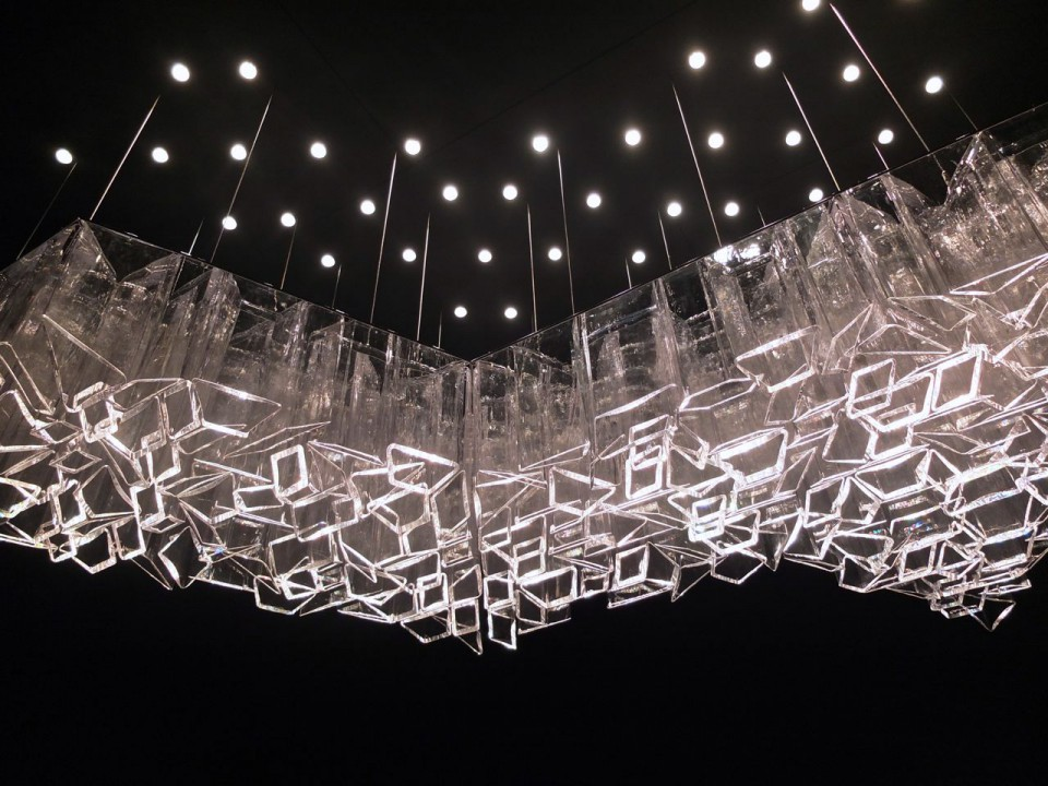 ice chandelier lights
