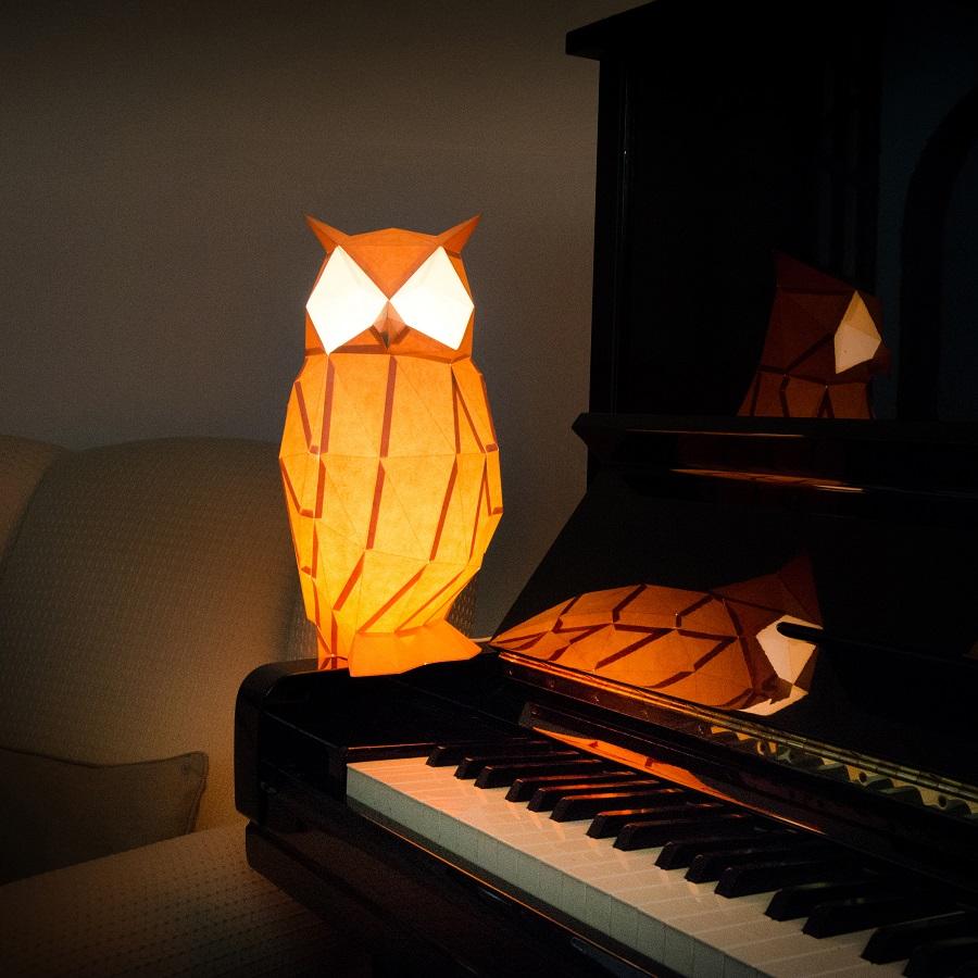 night owl paperlamp
