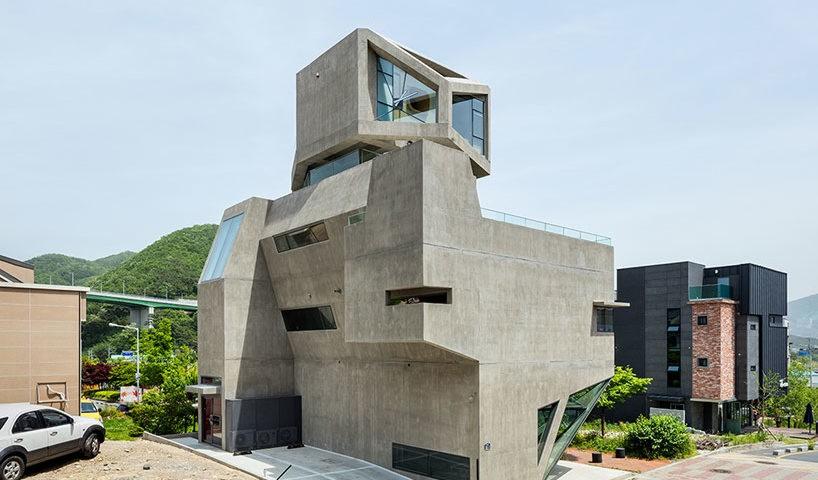 owl shaped modern house
