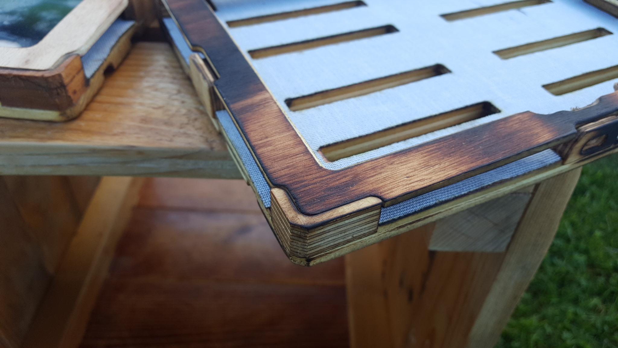 pallet case pieces