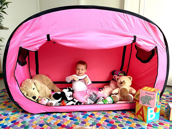 bed tent play pen