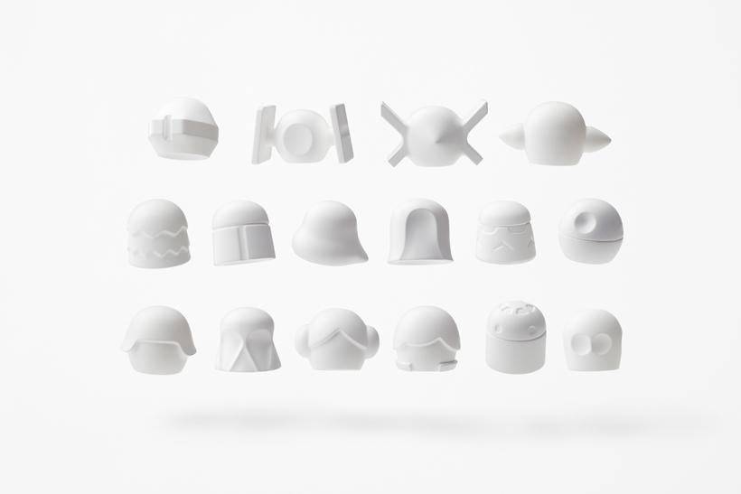 star wars minimalist shapes