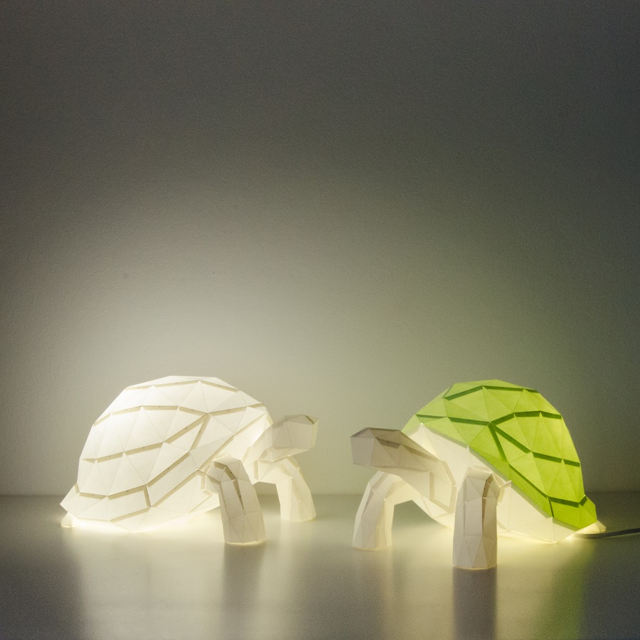 tortoise paperlamps