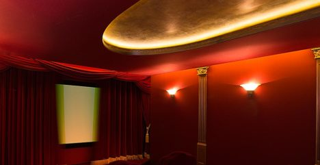 vintage cinema lighting