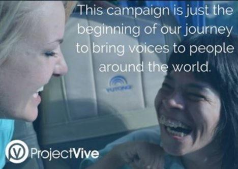 project vive voices campaign