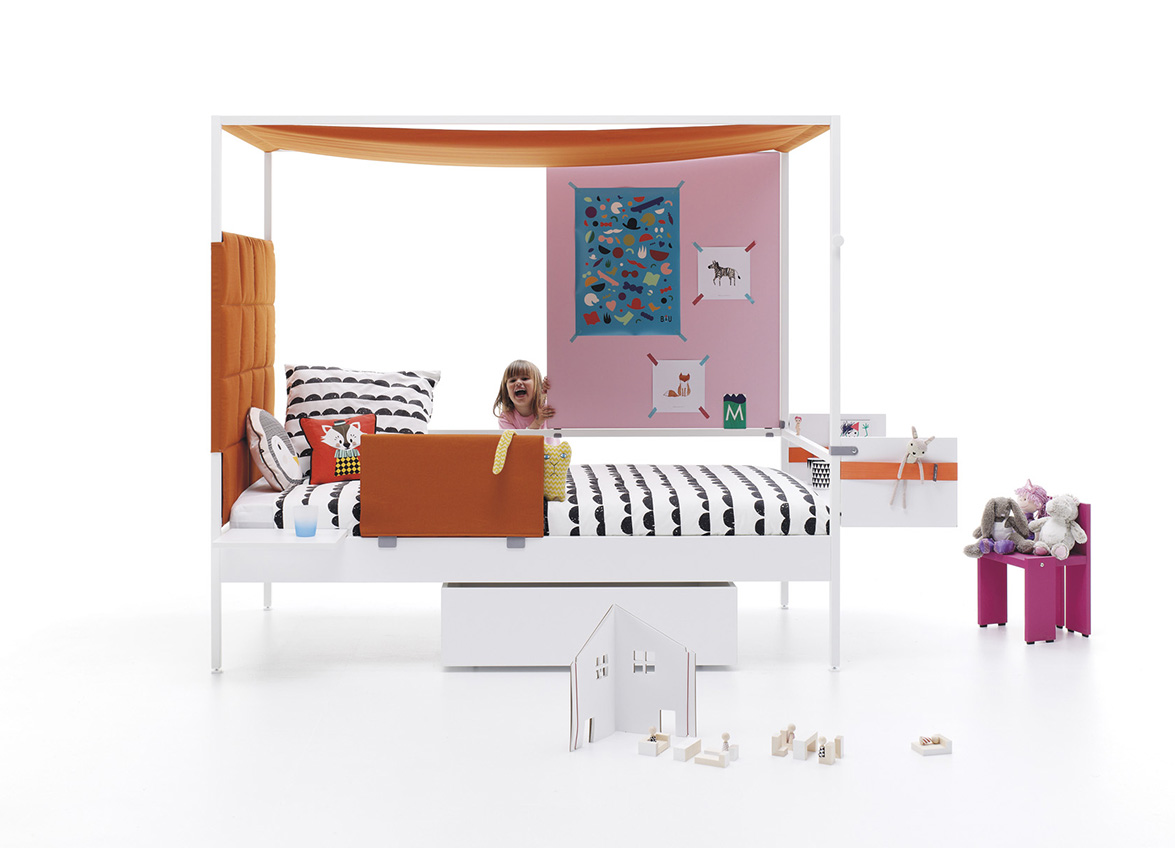 young girl's NOOK bed