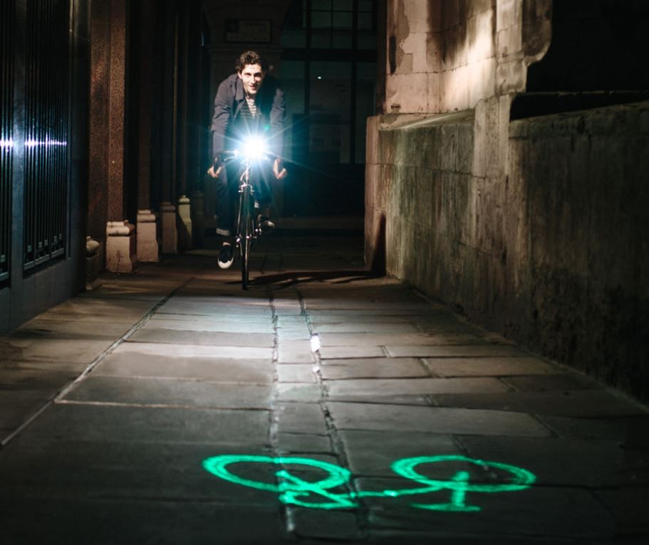 bike projection