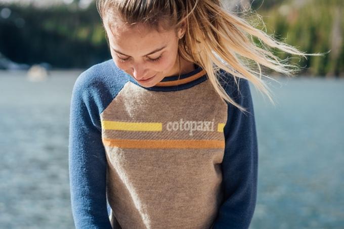 wearing libre sweater
