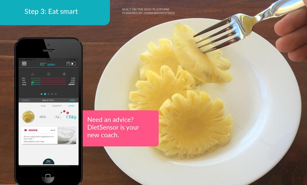 diet sensor tracking