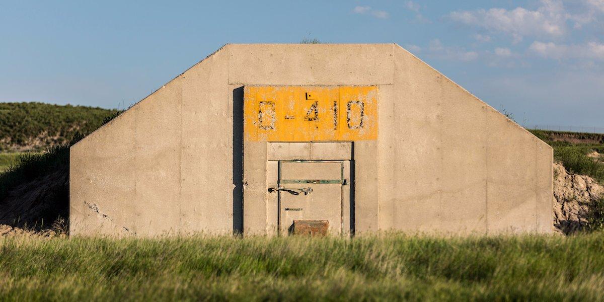 doomsday bunker facade