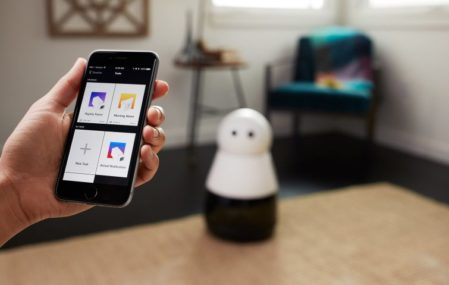 kuri home robot smartphone app