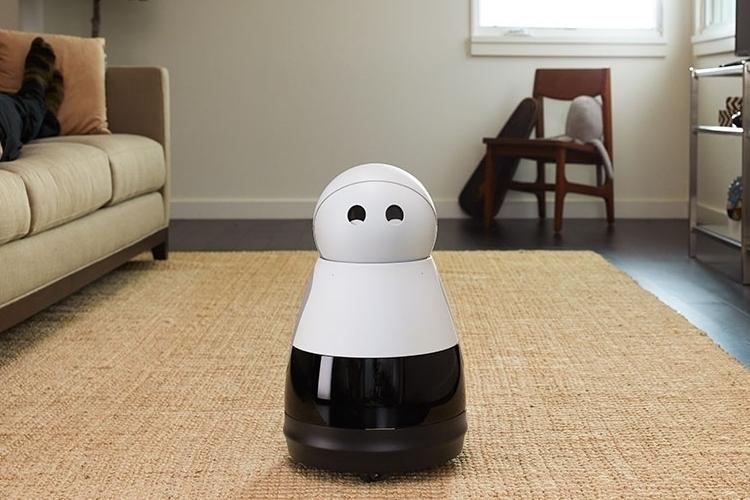 kuri home robot smile