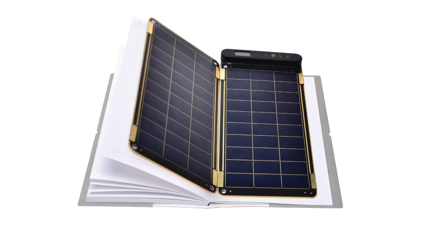 solar paper solar charger